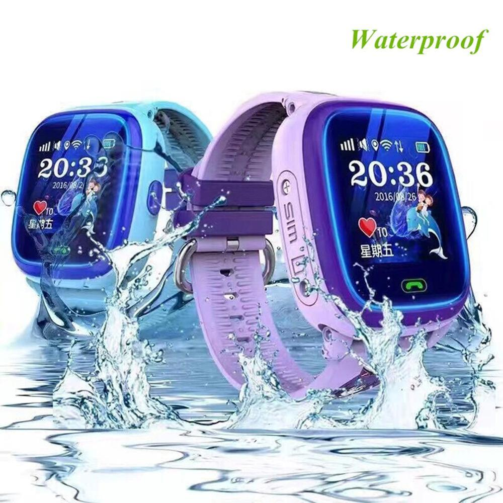 Wonlex IP67 GW400S Crianças GPS WI-FI Relógio Inteligente À Prova D' Água Relógio Criança Localizador GPS Inteligente Rastreador Alarme Anti-Perdido Wearable dispositivos