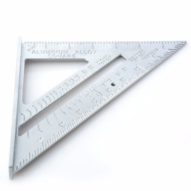 7 Inch Sd Square Triangle Rule Carpenter Measuringtools Rafter Sdlite Layout Tool Angle