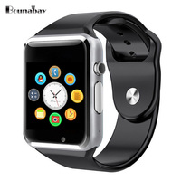 BOUNABAY Smart Watches For Man Bluetooth Multi Lingual Function Watch Men Clock Android Ios Phone Wifi