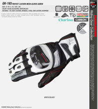 New arrival KOMINE GK-193 Protect Leather Mesh Gloves GUREN touchscreen 3 color 3 size