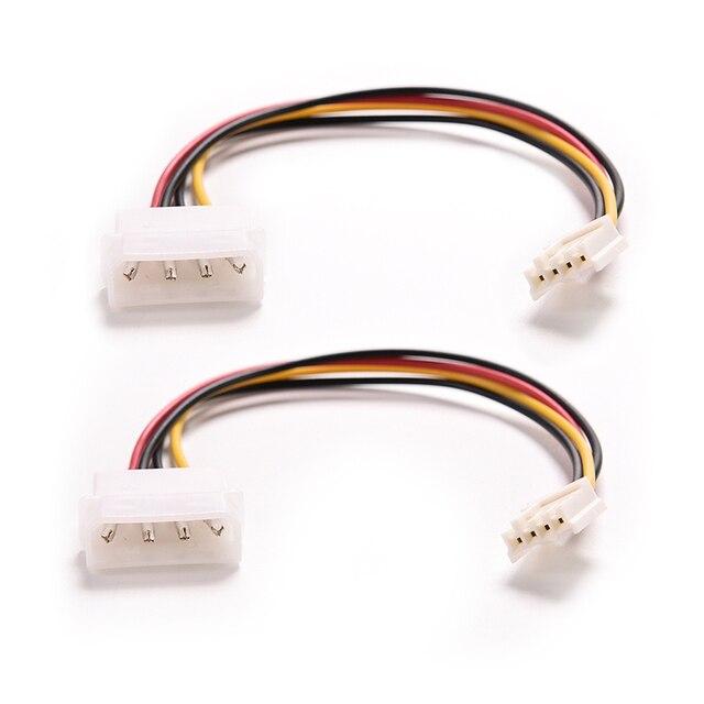 4 Pin Molex IDE Stecker auf 4 P ATA Female Stromversorgungskabel zu ...