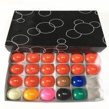 Для детей 38 мм Британский снукер бильярда Прочный смолы снукер шары комплект ювелирных изделий 22 шт./компл