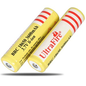 Image 2 - Ultrafire の 18650 オリジナル 3.7 v 3600 mah 充電式リチウムイオン電池の高品質リチウムランタンギフト懐中電灯おもちゃ