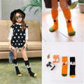 2017 Cute Children's Cartoon Cotton Baby Animal Print Sock Kid's Socks Up Long Knee Kid's Child Girl's Socks Clothing Accessorie
