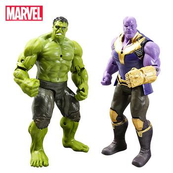 16cm Marvel Avengers zabawki Thanos Spiderman Hulk Iron Man kapitan ameryka Thor Ant man zabawki figurki akcji lalki dla dzieci tanie i dobre opinie Disney Model Żołnierz gotowy produkt Wyroby gotowe Unisex 18 cm Not suit for children under 3 years old 16cm-18cm 1 60