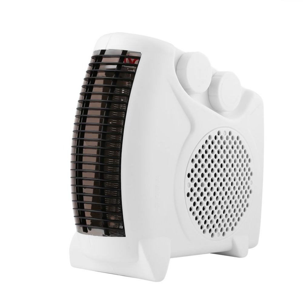2017 NEW Mini Portable Electric Heater Bathroom Warm Air Blower Fan Home Heater Adjustable Thermostat