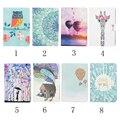 Красочные Окрашенные Кожи сальто Книга Case Чехол Для Amazon Для kindle 2016 8-го поколения E-reader funda случаи