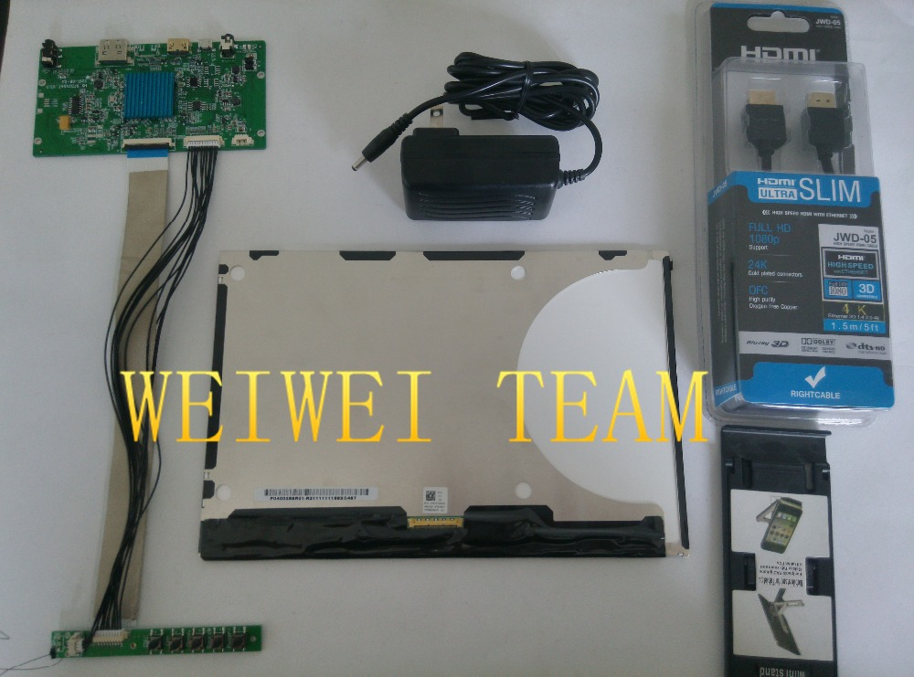 10.1 pollice 2560X1600 2 k 1440 p HD schermo IPS monitor VVX10T025J00 proiettore DLP LCD e scheda driver con keyboad stampante 3d fai da te