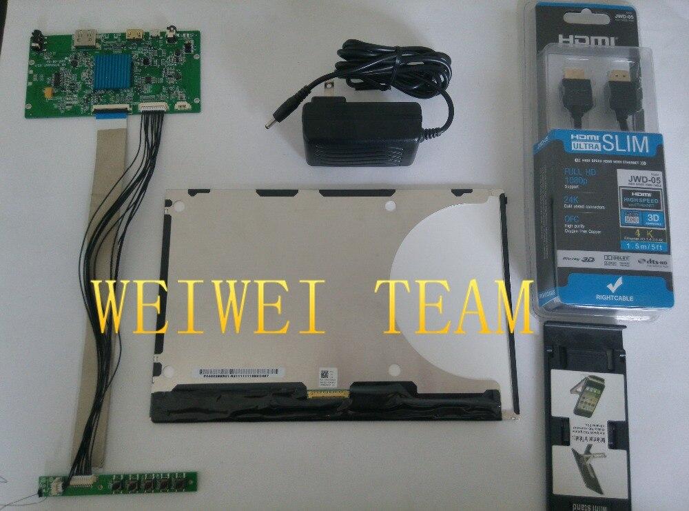 10.1 pouce 2560X1600 2 k 1440 p HD écran moniteur IPS VVX10T025J00 DLP projecteur LCD et carte pilote avec clavier 3d imprimante bricolage