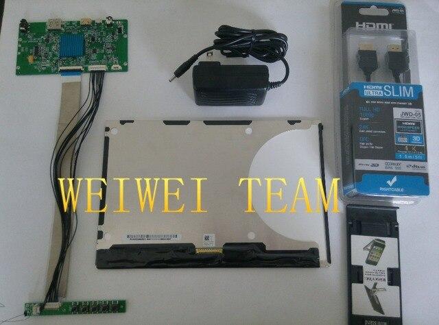 10,1 pulgadas 2560X1600 2 k 1440 p HD monitor de pantalla IPS VVX10T025J00 DLP proyector LCD y placa de controlador con la impresora 3d keyboad diy