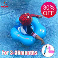 Baby Swimming Ring Float Inflatable Floating Kids Swim Pool Accessories Circle Bathing Inflatable Double Raft Ring