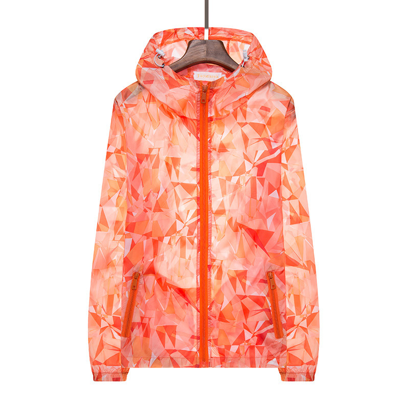 3a6d240f7c5a 2018 New Plus Size 4XL Summer Sunscreen Jacket Unisex Windbreaker Thin  Zipper Hooded Jacket Loose Casual Quick Drying Outwear