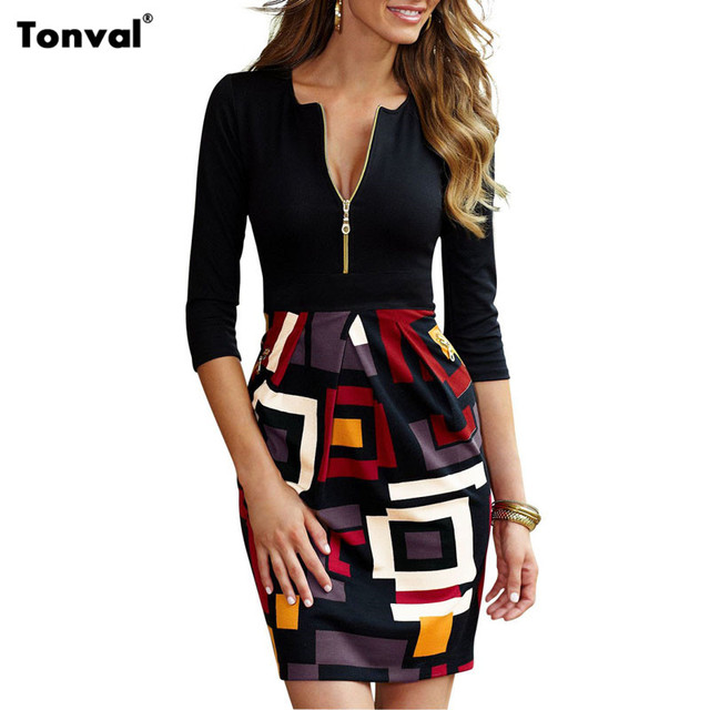 Aliexpress.com : Buy Tonval Bodycon Office Work Women ...