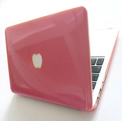 timeless design eae60 ebcce For Macbook Case See through Glossy Type Snap On Crystal Cover For ...