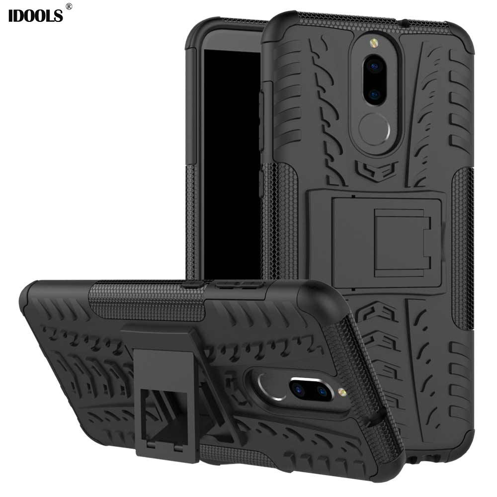 IDOOLS For Huawei Mate 10 Lite Case Mate 10Lite 5.9 inch Dual Layer Armor For huawei Mate 10 Lite Bags Cases TPU & PC Maimang 6