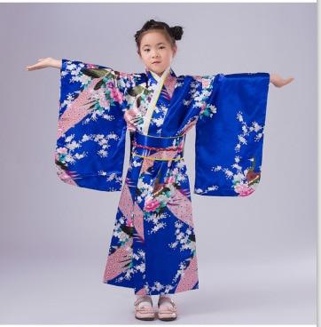 2017 жапондық Kimono Vintage түпнұсқалық - Ұлттық киім - фото 3