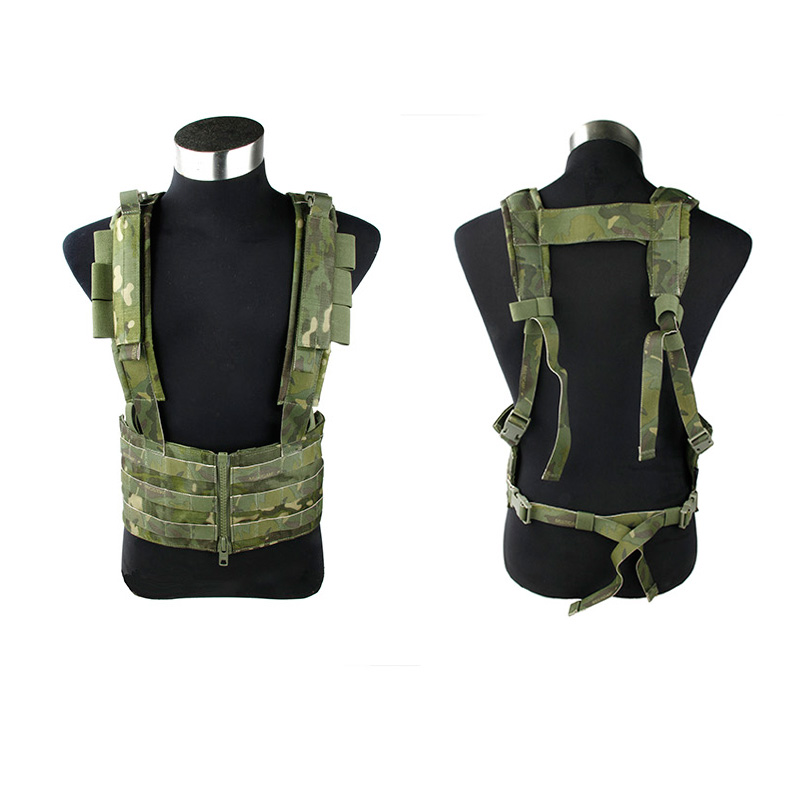 Trueguard 2017 Multicam Tropic SNIPER Chest Rack  MTP Imported 500D Nylon Fabric Tactical Chest Rig