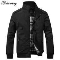 Bomber Jacket Men Windbreaker 2017 Autumn New Fashion Cotton Jacket Men S Casual Jackets Male Jacket