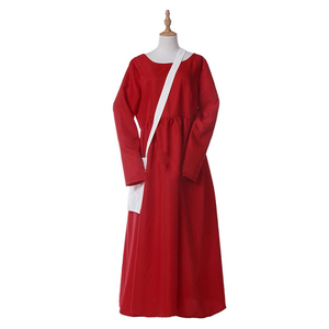 Image 5 - The Handmaid Tale The Handmaids Tale Cosplay Costume coat+dress+bag+scarf+hat Elisabeth Moss June Osborne Offred Trench