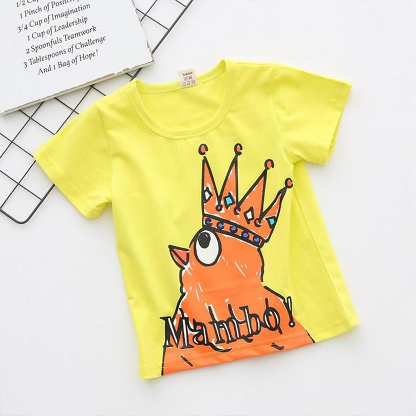 پیراهن بچه گانه Bosudhsou H-7 تی شرت آستین - لباس کودکان