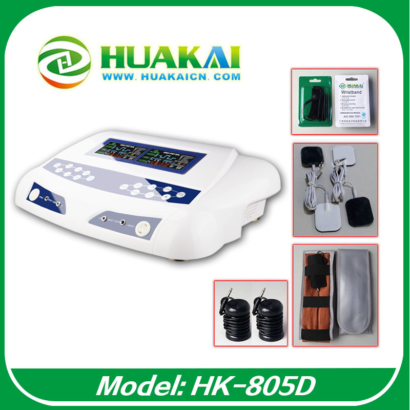 Good Service The Best Ion Cleanse Machine Detox Foot Spa Device With Dual Far Infrared Belt And Dual Lcd Screen HK-805D