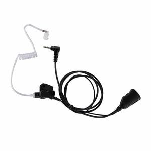 Image 1 - Walkie Talkie 1pin Volume Adjustable Headset PTT Earphone Radio Accessory For Yaesu Vertex VX 3R 5R 210 Two Way Radio