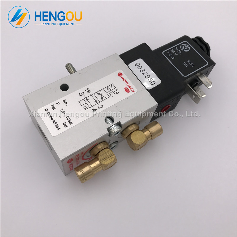 5 Pieces DHL free shipping Heidelberg SM52 SM74 SM102 machine valve 61.184.1311 Heidelberg 4/2-way valve avr sx460 5 pieces sx460 free shipping