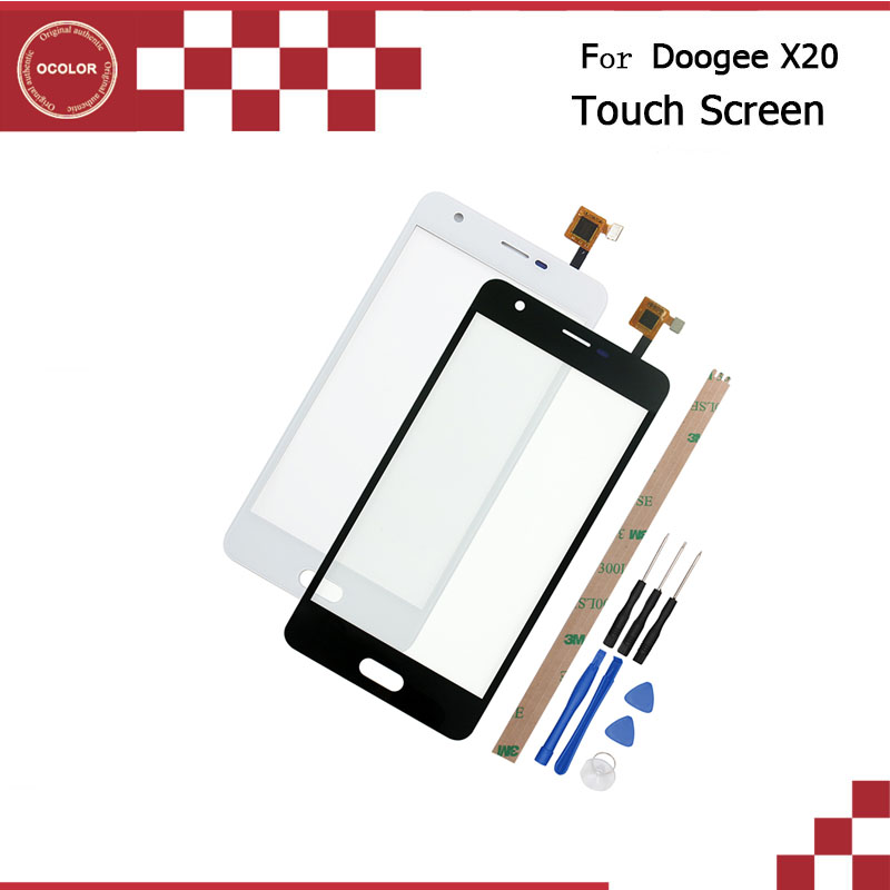 For Doogee X20 Touch Panel Touch Screen Digitizer Sensor Replacement For  Doogee X20 5 0'' Mobile