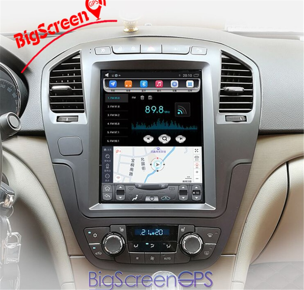 Bigscreen Android 7.1 2GB+64GB Car GPS Radio No DVD Player Navigation For Opel Insignia Vauxhall Holden CD300 CD400 Stereo unit