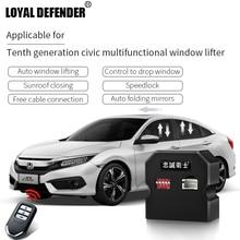 Suitable for Honda New Civic 2016 of Auto window lifter window close folding mirror speed lock