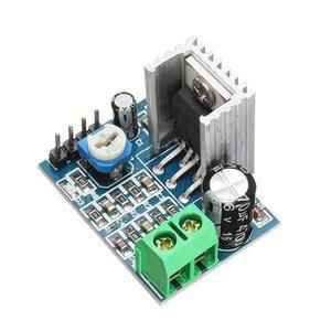 Image 3 - LEORY TDA2030A מונו 18 W אודיו מגבר מודול לוח 10 K התנגדות מתכווננת כוח מגבר 6 12 V