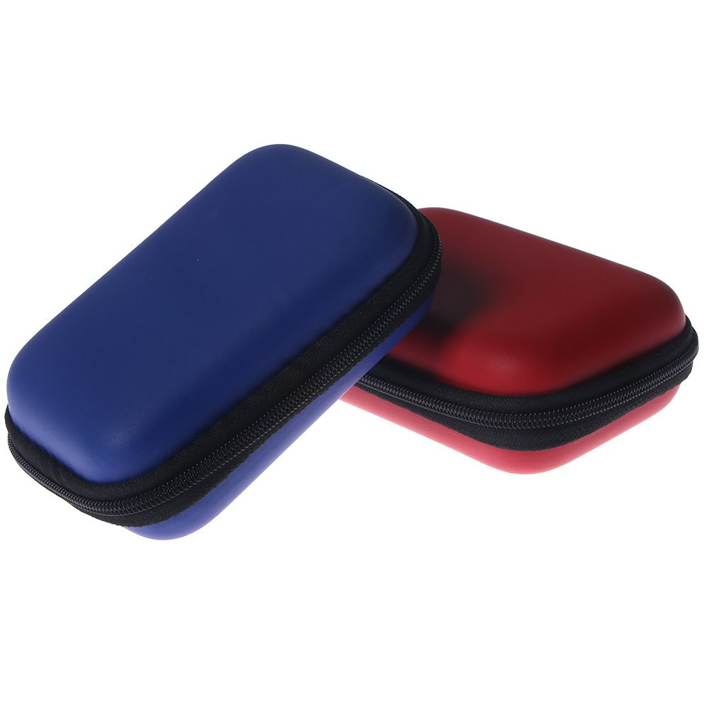 Storage-Box Earphone-Case Usb-Cable-Organizer Portable Zipper For Coin-Memory-Card Hard-Bag