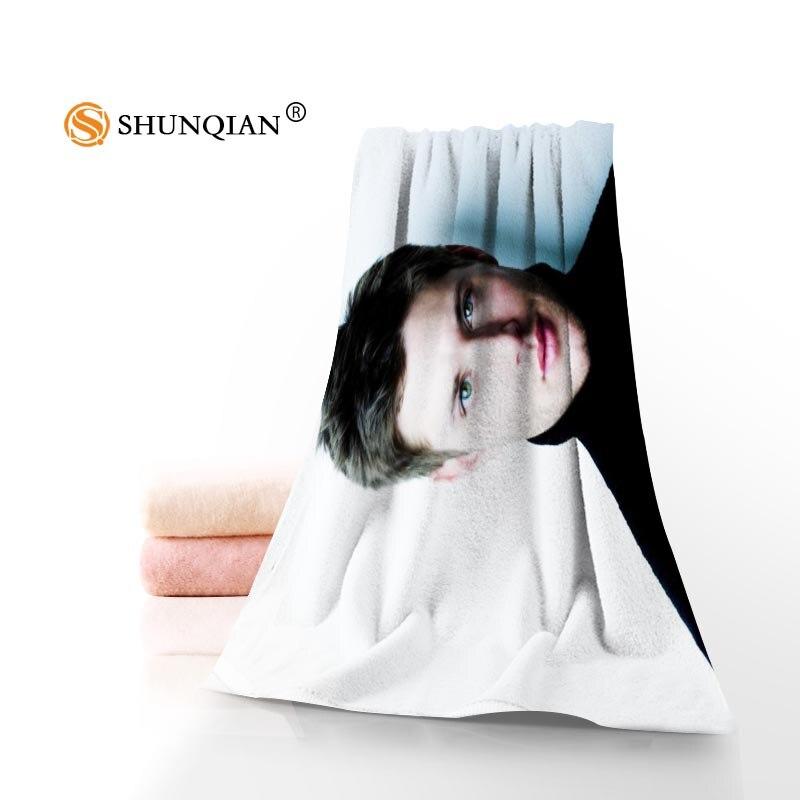 Jensen Ackles Towels Microfiber Bath Towels Travel,Beach,Face Towel Custom Creative Towel Size 35X75cm And 70X140cm A9.25