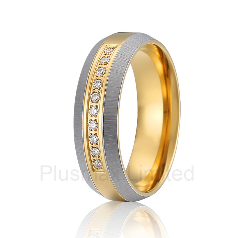 2016 6mm Anel unique brushed and polishing pure titanium fashion jewelry wedding rings for men and women anel feminino cheap pure titanium jewelry wholesale a lot of new design cheap pure titanium wedding band rings