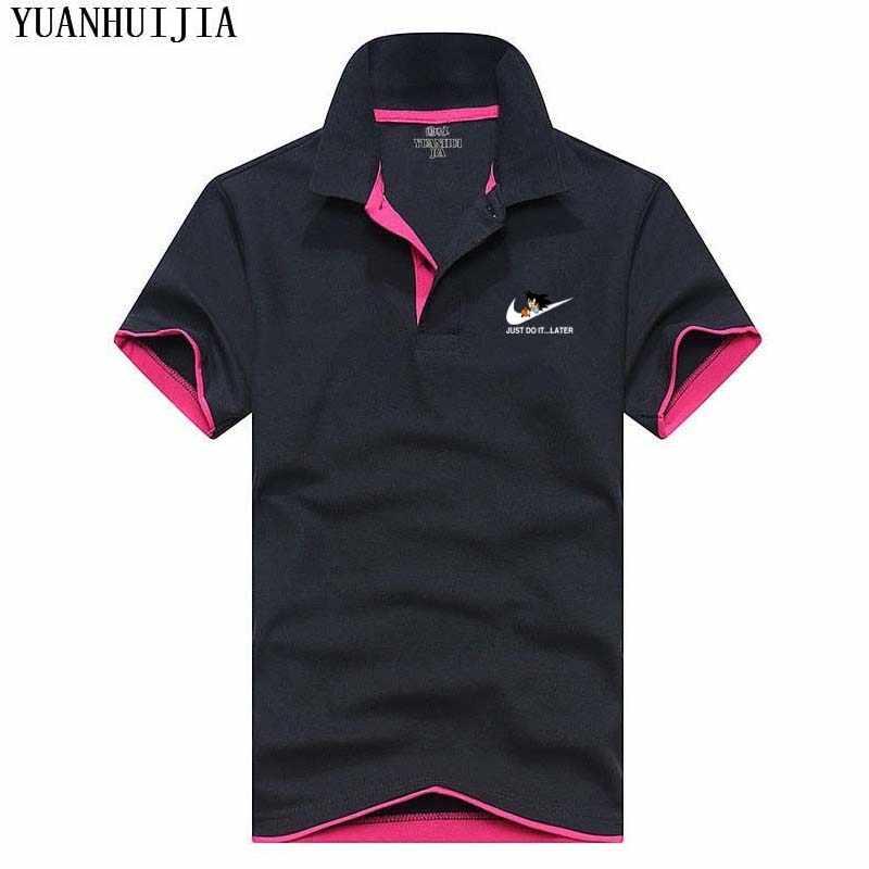 558c7d8044e Новый 2017 3D для мужчин мужские поло Dragon Ball модные футболки короткий  рукав топы корректирующие летние