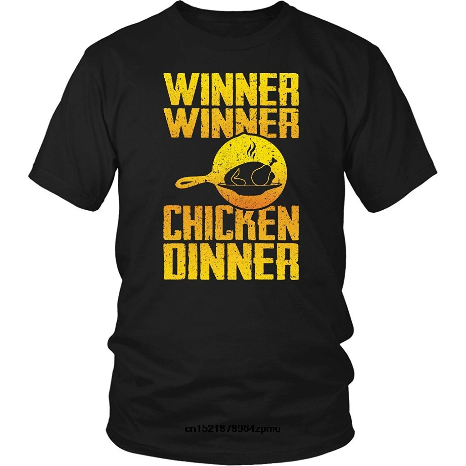 31c3dc51c Men t shirt ASSIN Battle Royale Gamer Clothing Winner Winner Chicken Dinner  Unisex t-shirt