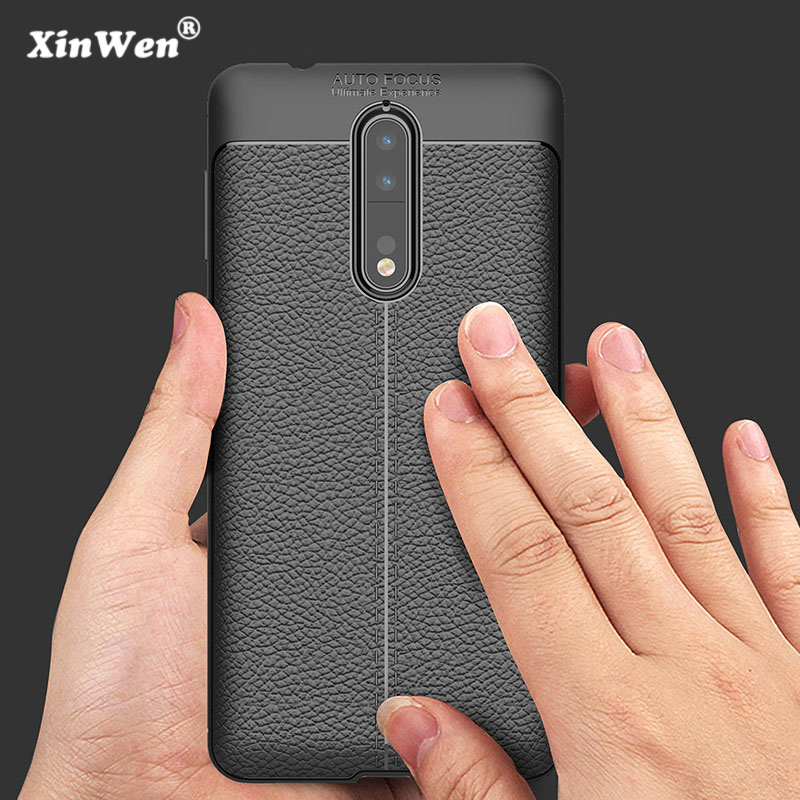 XinWen luxury phone case for nokia 6 8 9 2018 for nokia6 nokia8 nokia9 silicone silicon back etui,coque,cover, Soft accessories nokia 8 new 2018