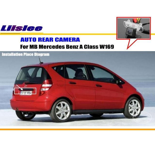 liislee car rear view camera for mercedes benz a class w169 rh aliexpress com Mercedes Wiring Diagram Color Codes mercedes a-class stereo wiring diagram