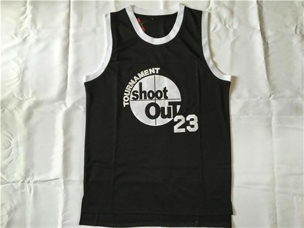 Motaw Jersey #23 Tournament Shoot Out Jersey Above The Rim Basketball Jersey Stitched Men Black S-3XL Viva Villa