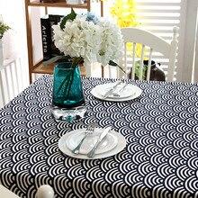 JaneYU Flax Wave Lace Tablecloth, Tea Table Cloth