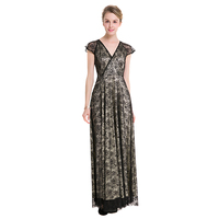 Original Design Spring Autumn Women High End Perspective Lace Dresses Vintage Summer Hook Flowers Hollow Robes