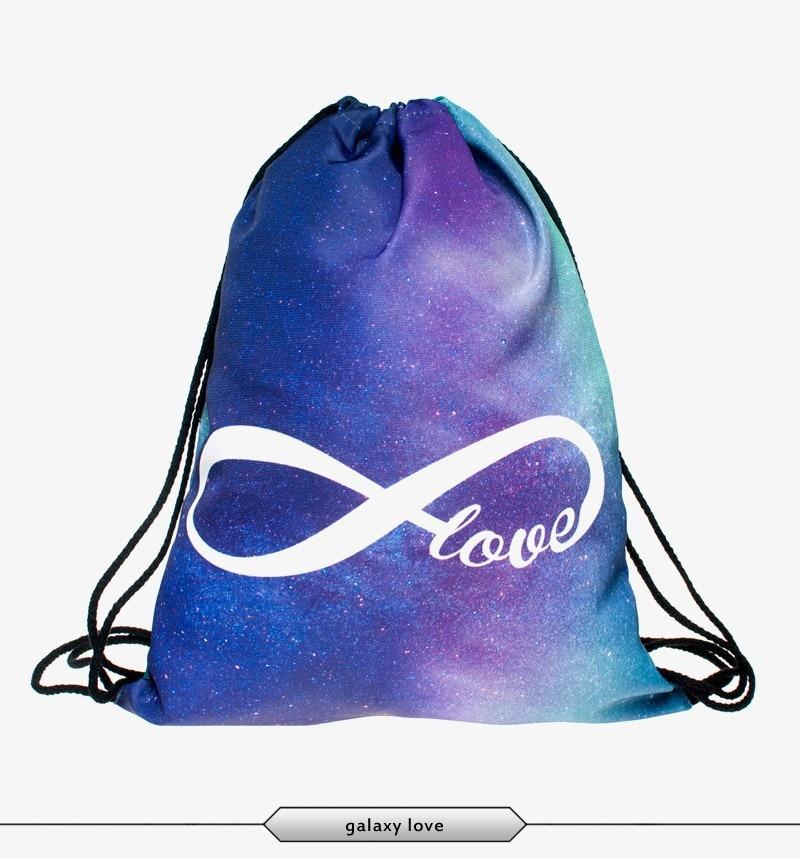 2015 New Fashion Escolar Backpack 3D Print Weed Softback Women Mochila  Feminina Harajuku Drawstring Bag Unisex Backpacks-in Backpacks from Luggage  & Bags on ...