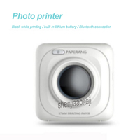 Picture Thermal Printer Photo Printer Portable Bluetooth Printer Phone Wireless Connection Printing machine for Office/Learning