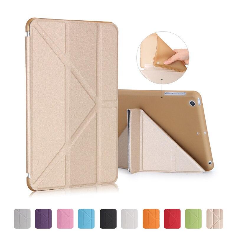 Ультра тонкий стенд Дизайн кожаный чехол для ipad mini крышка красочные флип Смарт Обложка Smart Cover для ipad mini 123 Настольный чехол