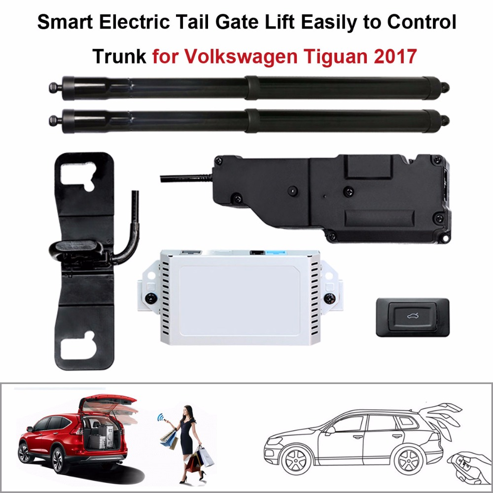 Electric Tail Gate Lift for Volkswagen Tiguan 2017 Control by Remote