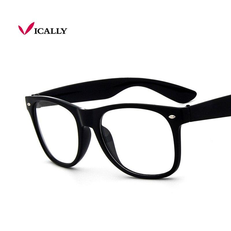 acd67f2dcb7af4 Mode Mannen Bril Frame Vrouwen Bril Clear Glas Merk Helder Transparante  Glazen Optische Bijziendheid Brillen oculos de grau in Mode Mannen Bril  Frame ...