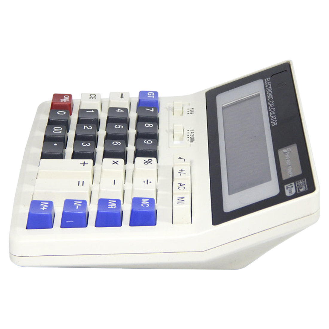 Etmakit  Big Buttons Office Calculator Large Computer Keys Muti-function Computer Battery Calculator Top Quallity