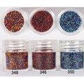 1 Caja de 10 ml Color Mezclado Rojo Azul Perlas de Caviar DIY Bola de Acero de Manicura de uñas 3D Decoraciones de Uñas Brillo Del Arte Del Clavo decoración