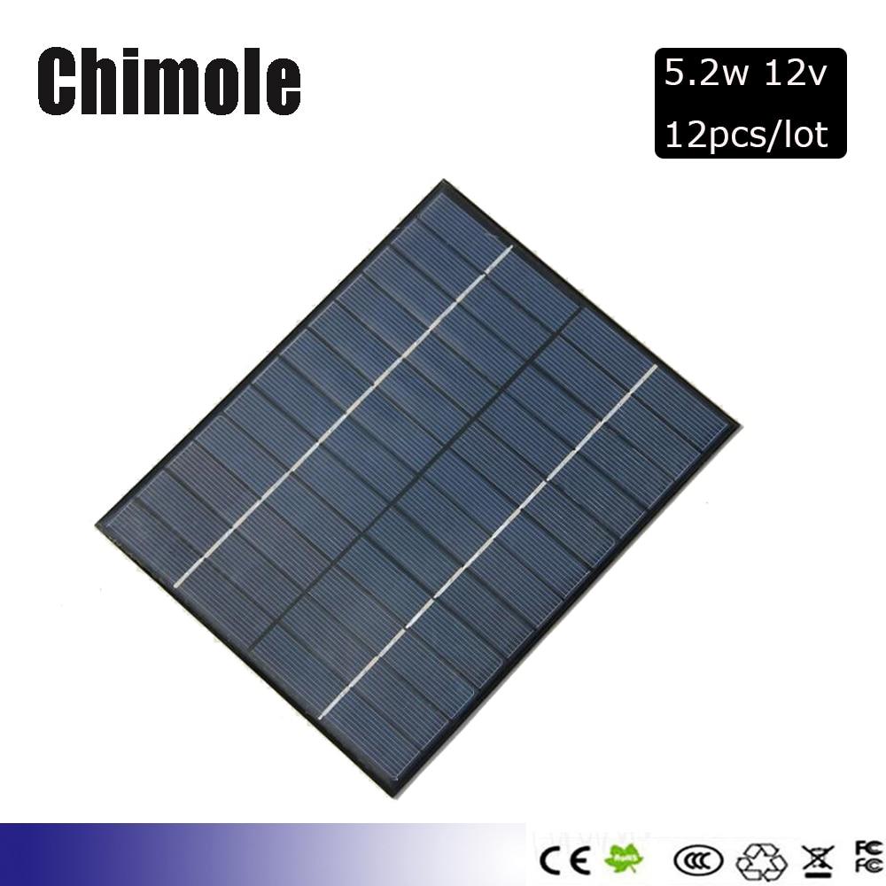 1V 2V 5V 6V 9V 12V Panneau solaire 56 mA à 500 mA Cellule solaire 110mW à 3W