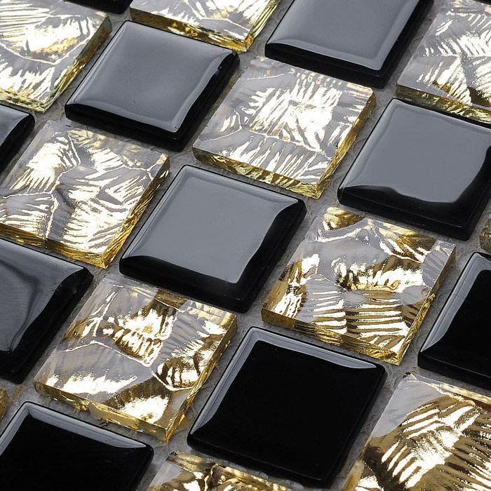Crystal Glass Backsplash Kitchen Tile Mosaic Art Mirrored